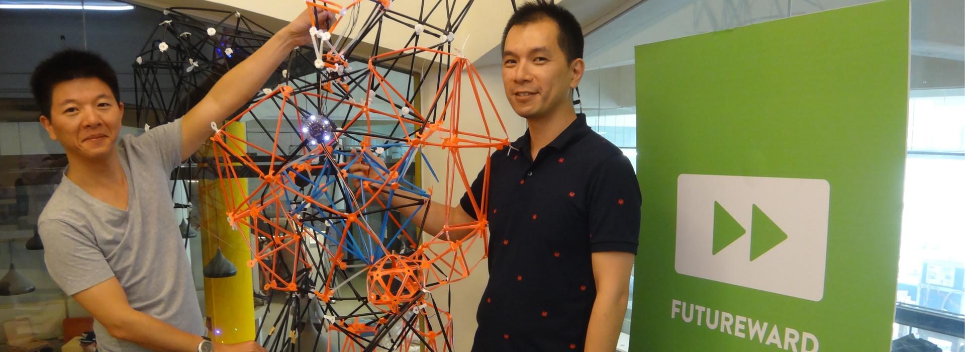 林佑瀓及楊育修催生自造者—未來產房打造世界級自造者空間