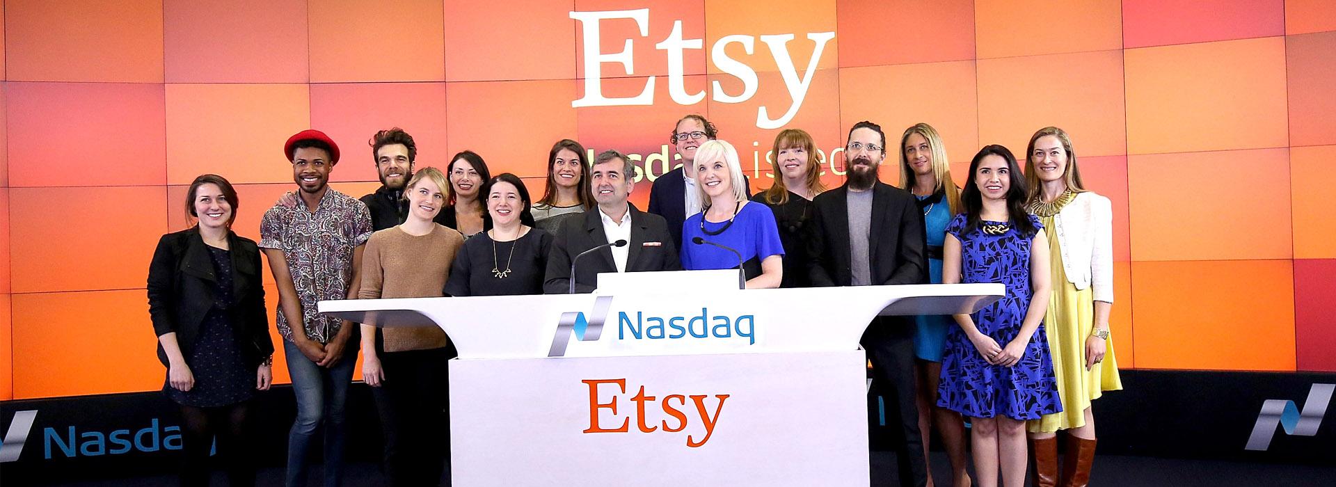 挑戰eBay,藝術家實踐上市夢—手工藝品網站Etsy  推動創客的搖藍