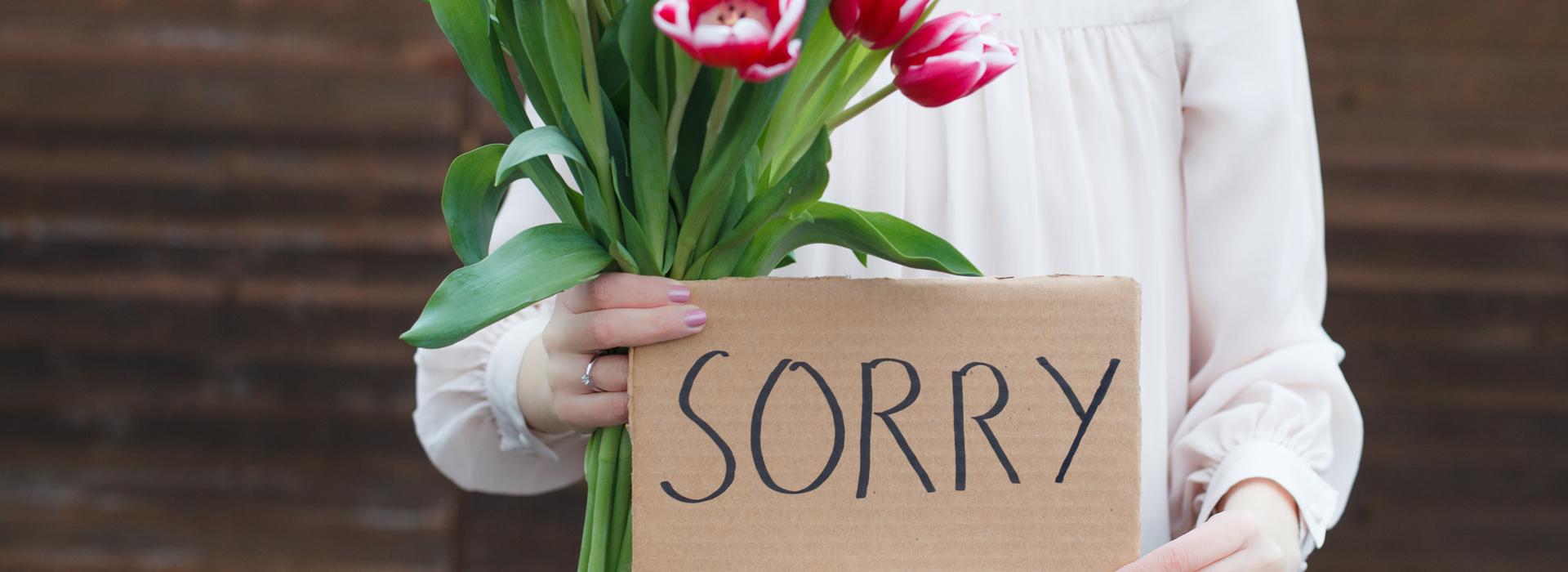 態度決定危機如何落幕,真誠道歉的5步驟