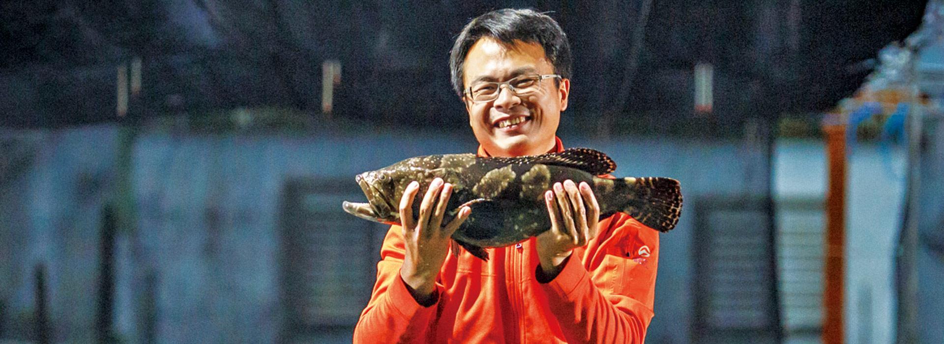 七年級「沙漠漁夫」  替台灣養殖業轉骨