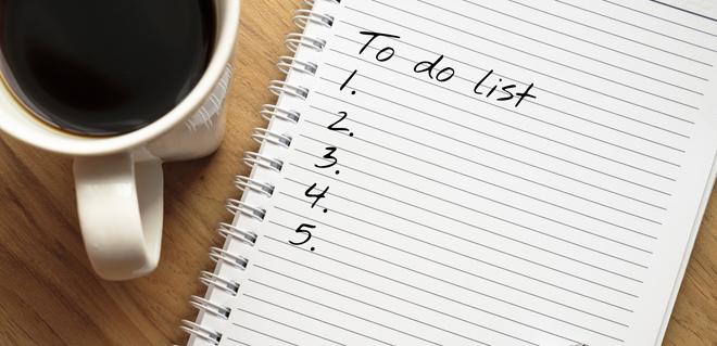待辦清單如何列得有重點、夠具體、易執行?