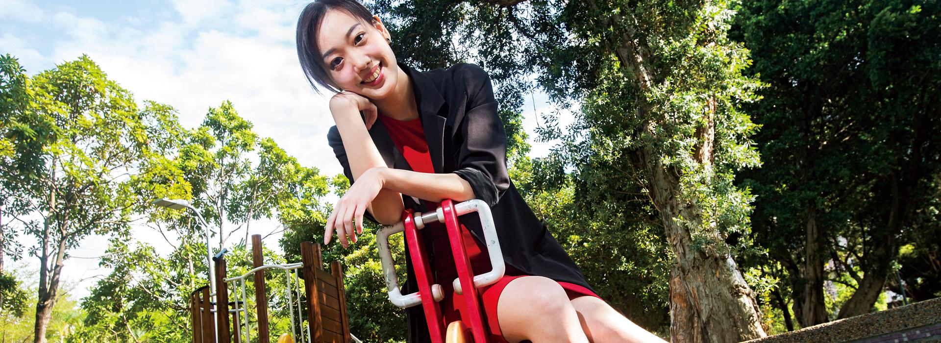 27歲的她不怕「歸零」 幫大學生創業築夢