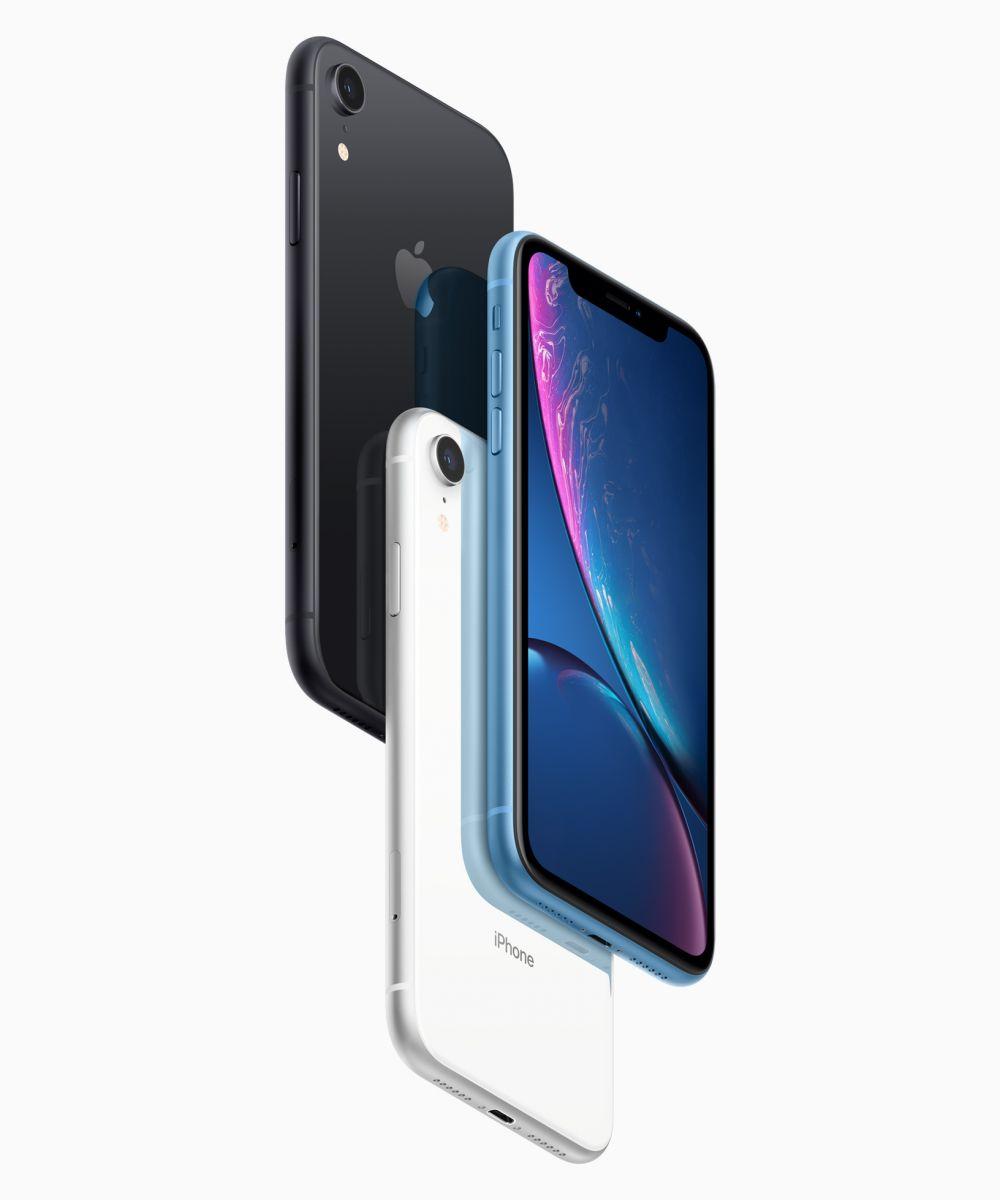 iPhone XR預購官網19日下午3點01分開跑,各大電信業者紛祭優惠。