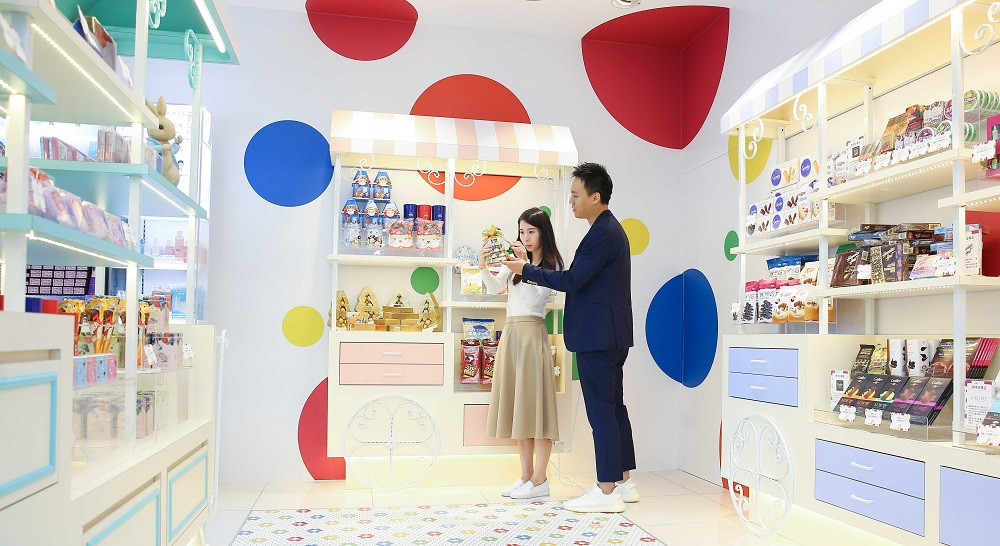 7-ELEVEN新推出的超商「Big7」,店內開創業界先例推出「糖果屋」。