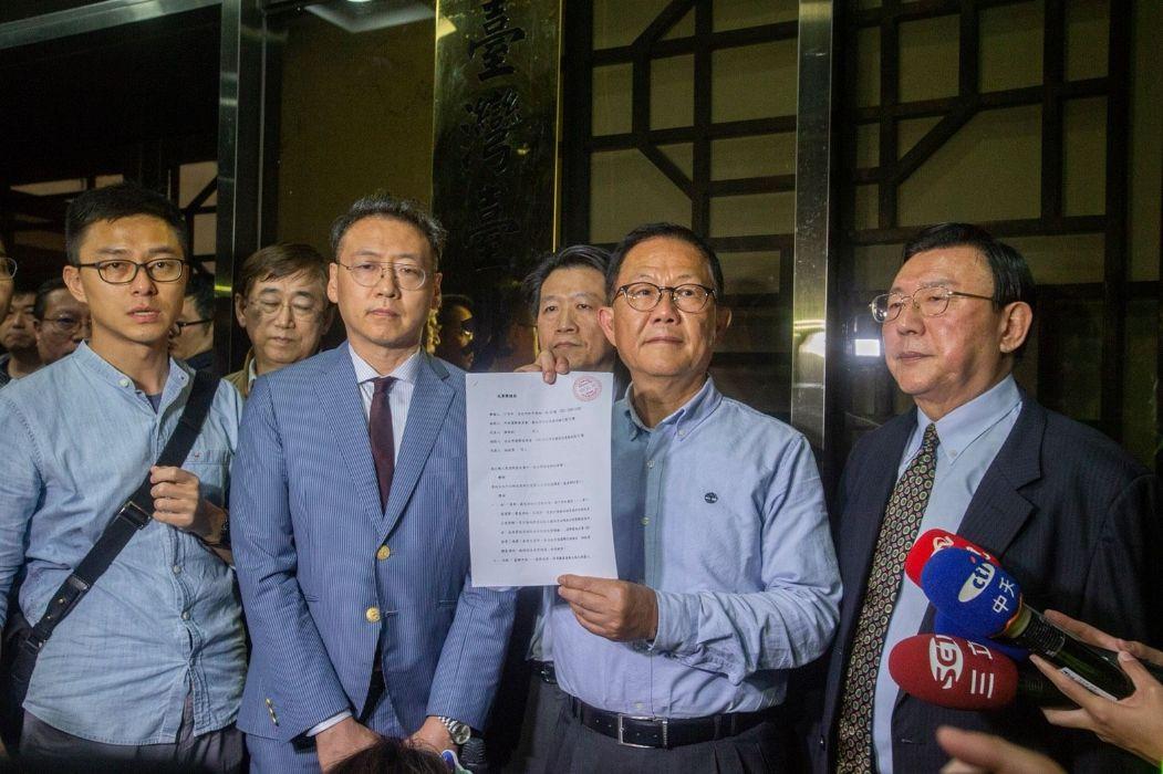 丁守中自籌400萬聲請驗票 「捍衛台灣民主價值」