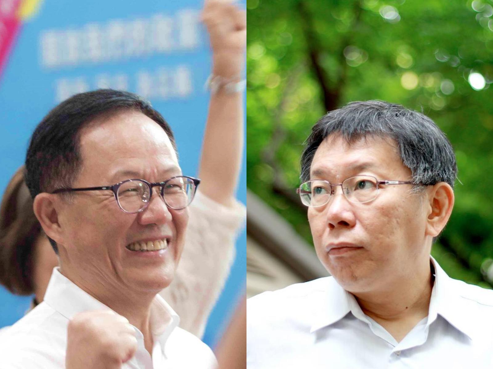 台北市長若重選投誰?52萬網友一面倒都支持「他」