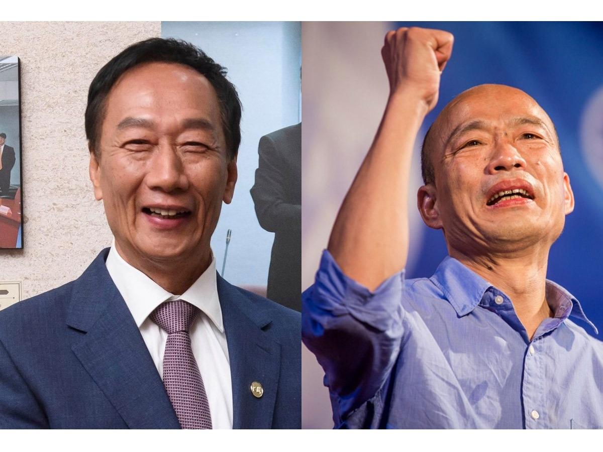 聯合報民調/韓國瑜30% 郭台銘29% 打成平手