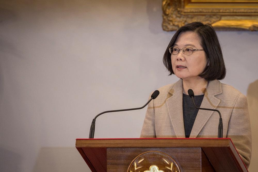 六四天安門30周年/蔡英文籲勿忘六四:台灣絕對會守住民主自由