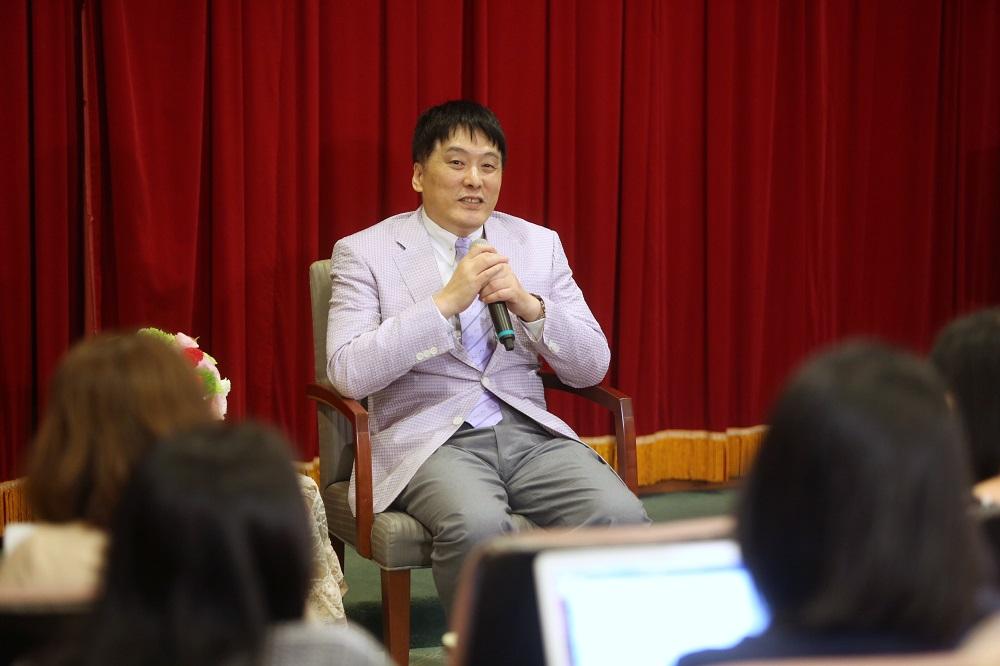 (統一董事長羅智先今(18)日出席股東會。圖/攝影:唐紹航)