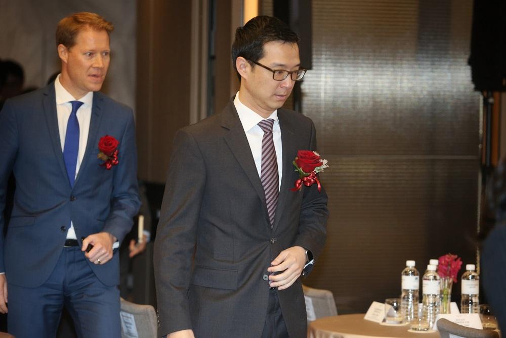國泰世華銀行副董事長蔡宗翰。
