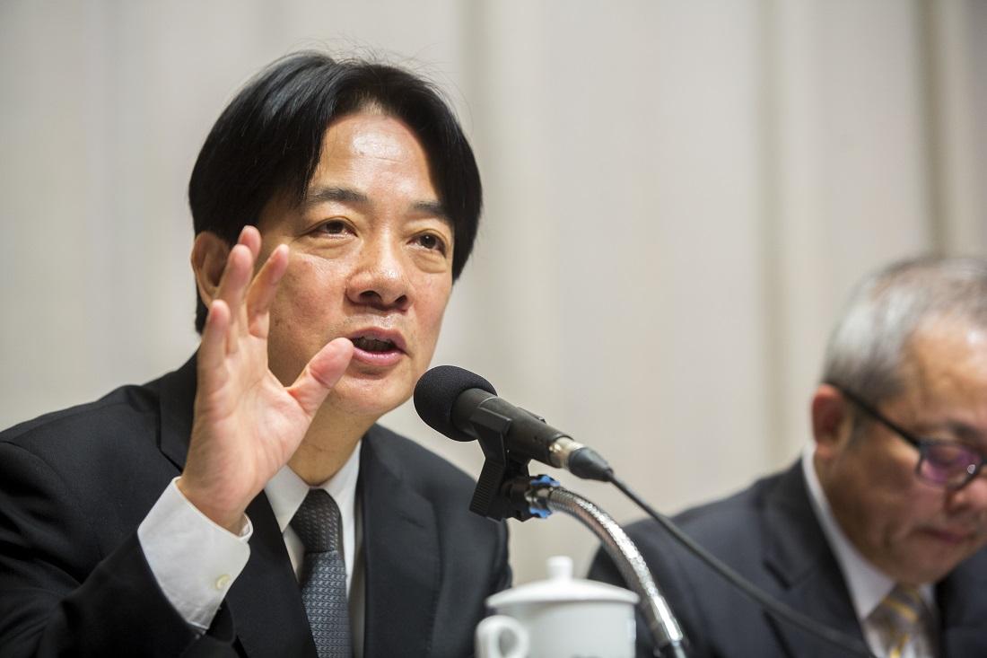 賴清德登記總統初選 「承擔責任、捍衛台灣主權」