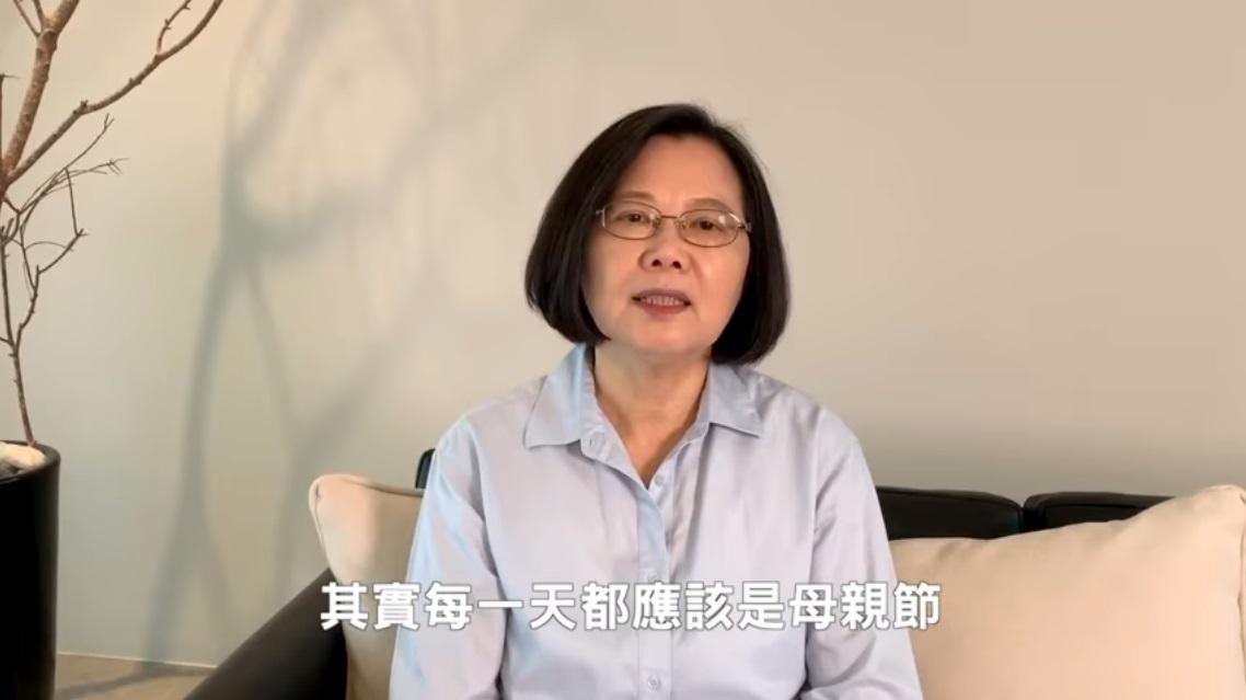 蘇貞昌憶母「希望我一直是讓她開心驕傲的孩子」 蔡英文籲:每天都應是母親節