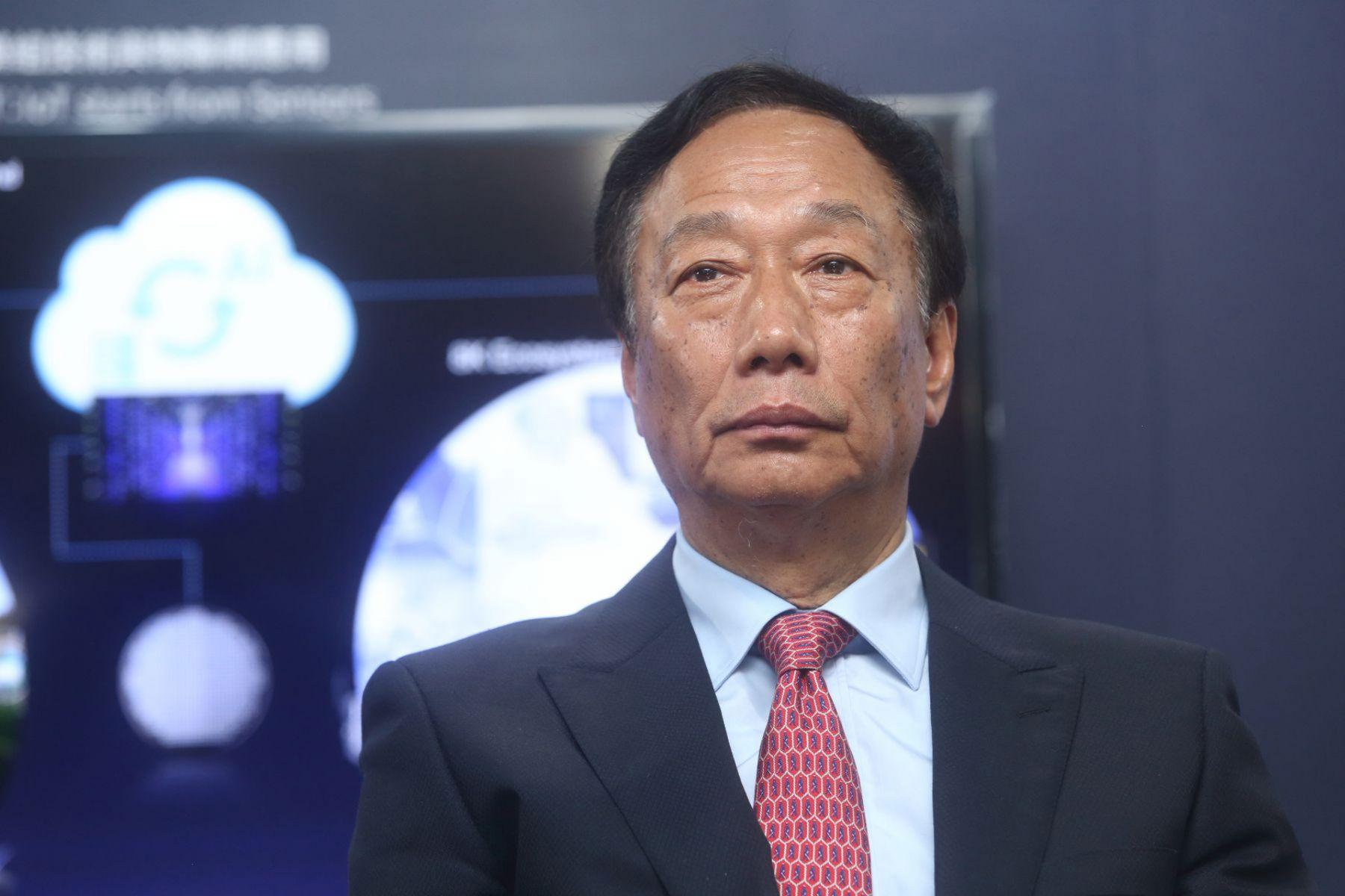 郭台銘選總統 鴻海市值縮水逾千億