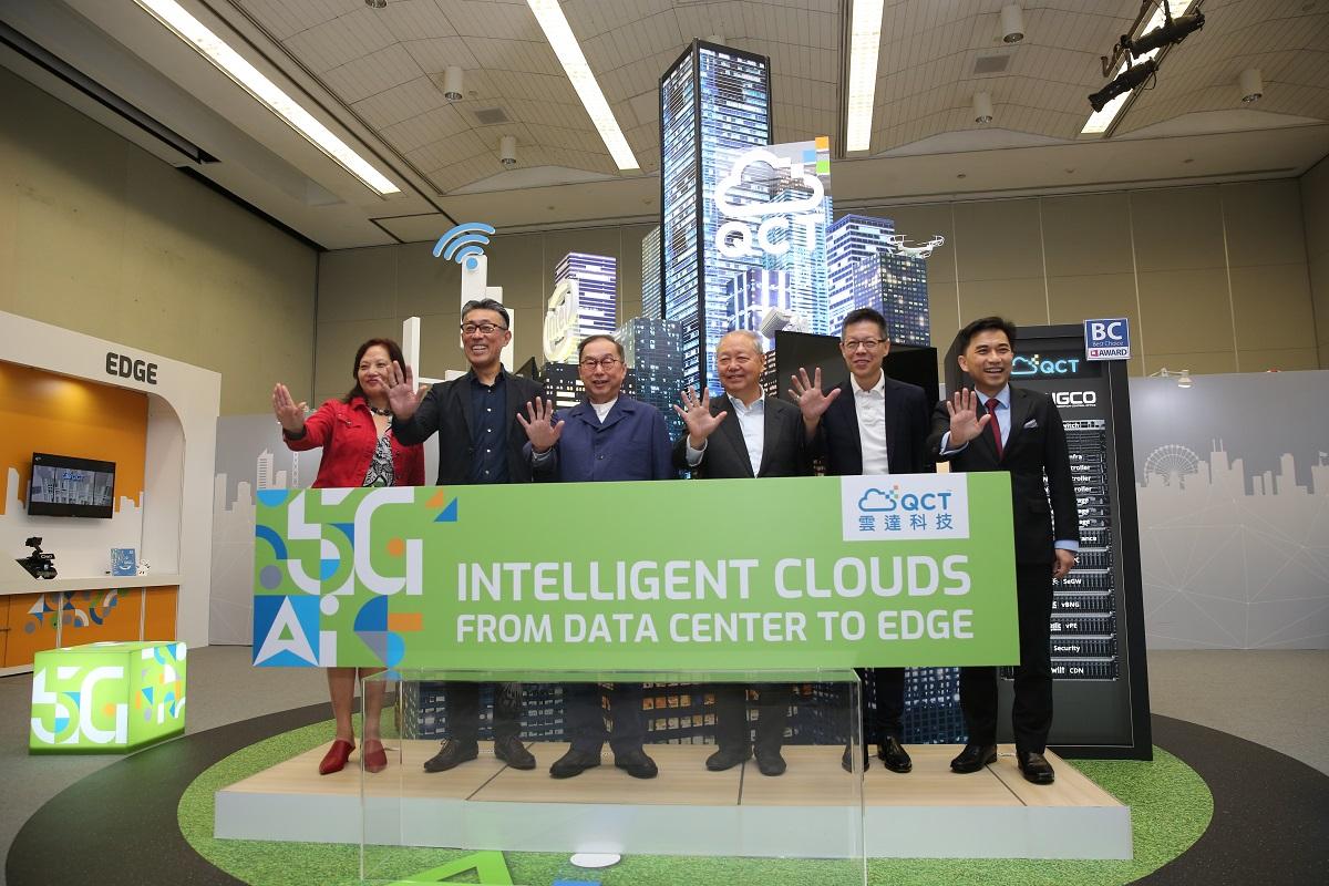 廣達旗下雲端品牌雲達(QCT)在COMPUTEX正式開展前舉辦記者會。圖/攝影:蕭芃凱