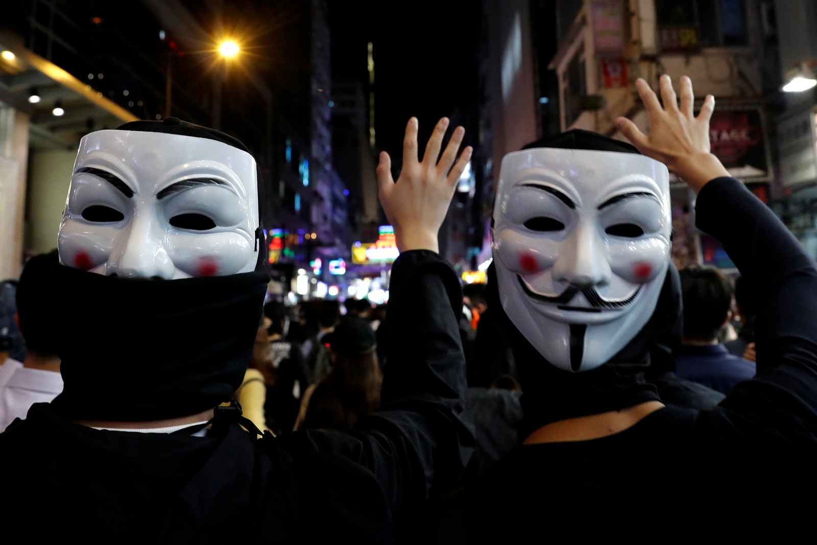 香港高等法院裁定《禁蒙面法》違憲 「超乎合理需要」