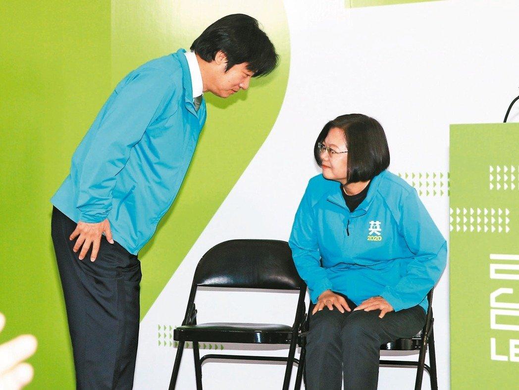 聯合報民調/三黨副手出列 45%挺蔡賴 29%投韓張 8%支持宋余
