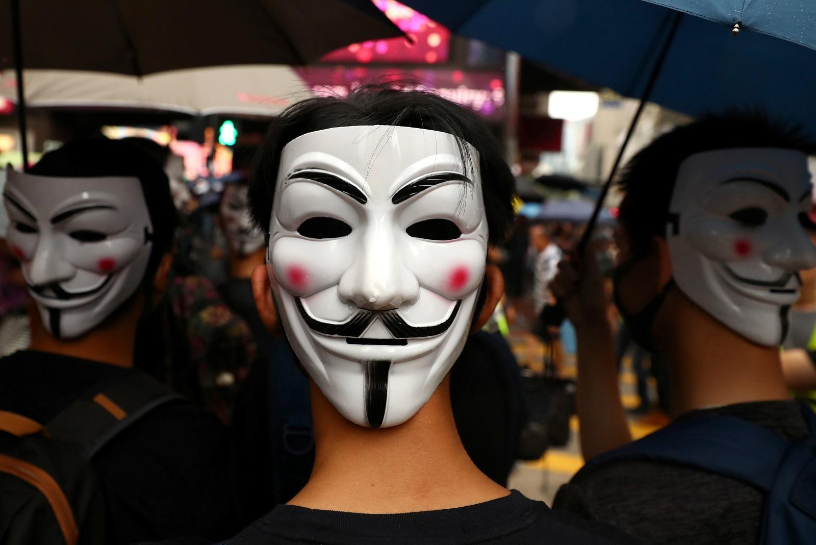 香港反送中/港人遊行抗議《禁蒙面法》 黎智英:若我們不反抗將失去一切