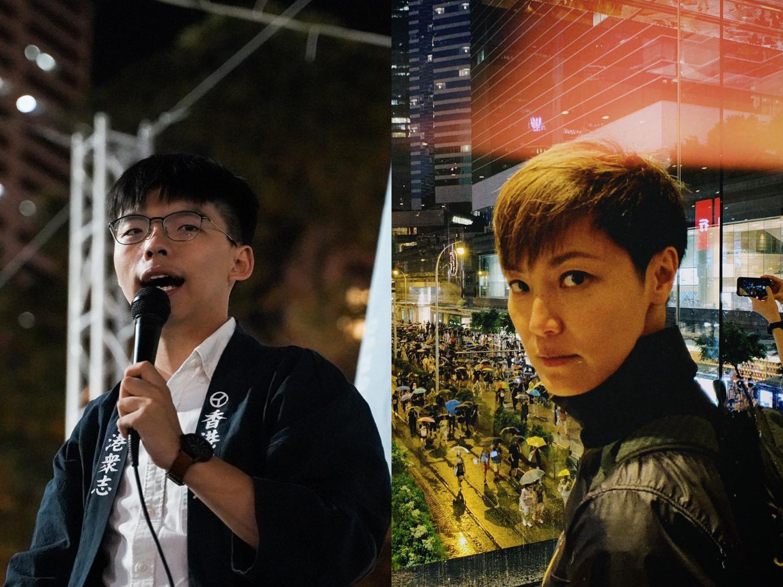 香港反送中/黃之鋒、何韻詩17日赴美出席聽證會 提供「反送中」第一手消息
