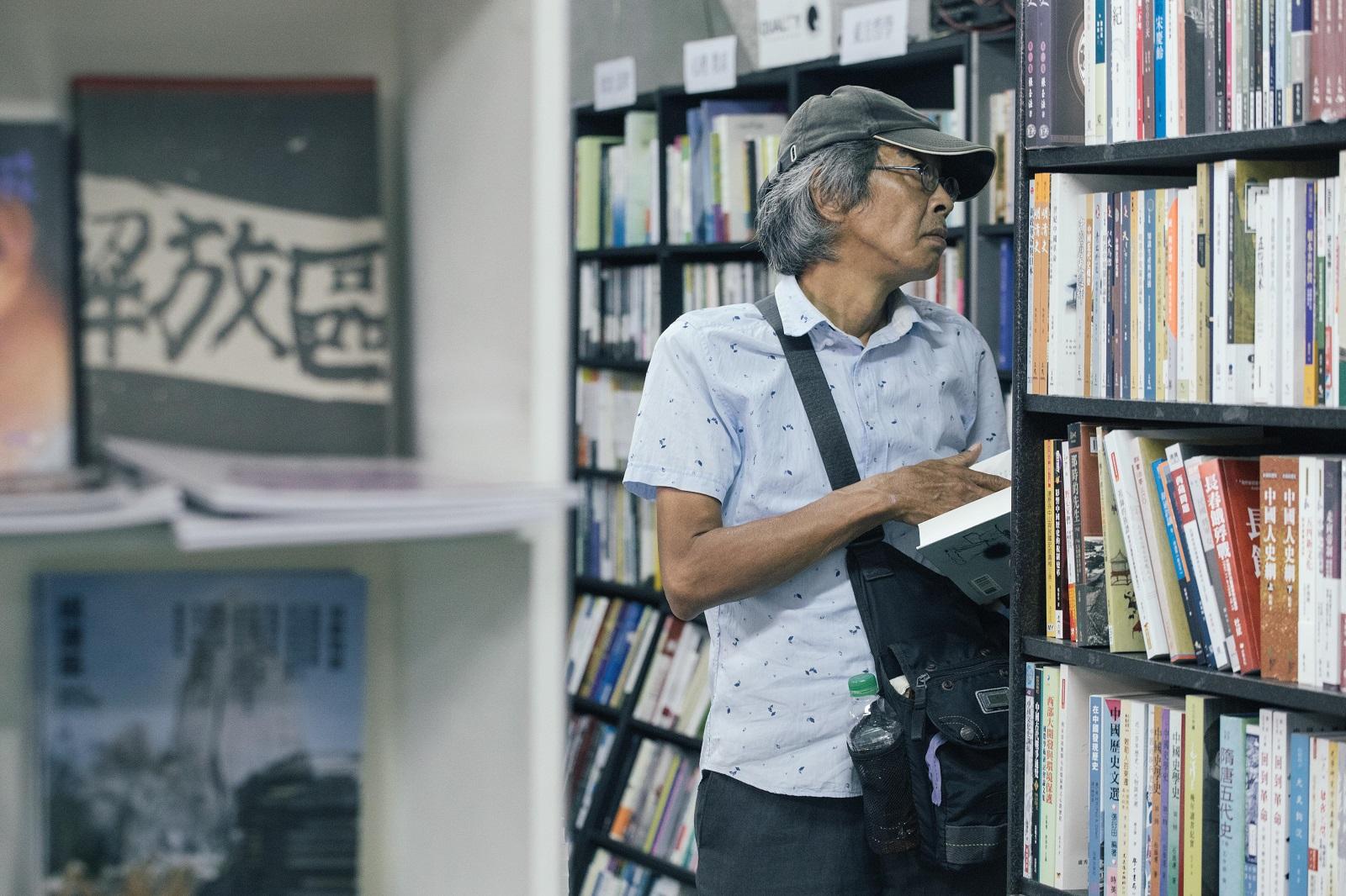 銅鑼灣書店落腳中山區!林榮基籲1/11日台灣人必投票 「別讓自由的生活有被迫終止的一天」