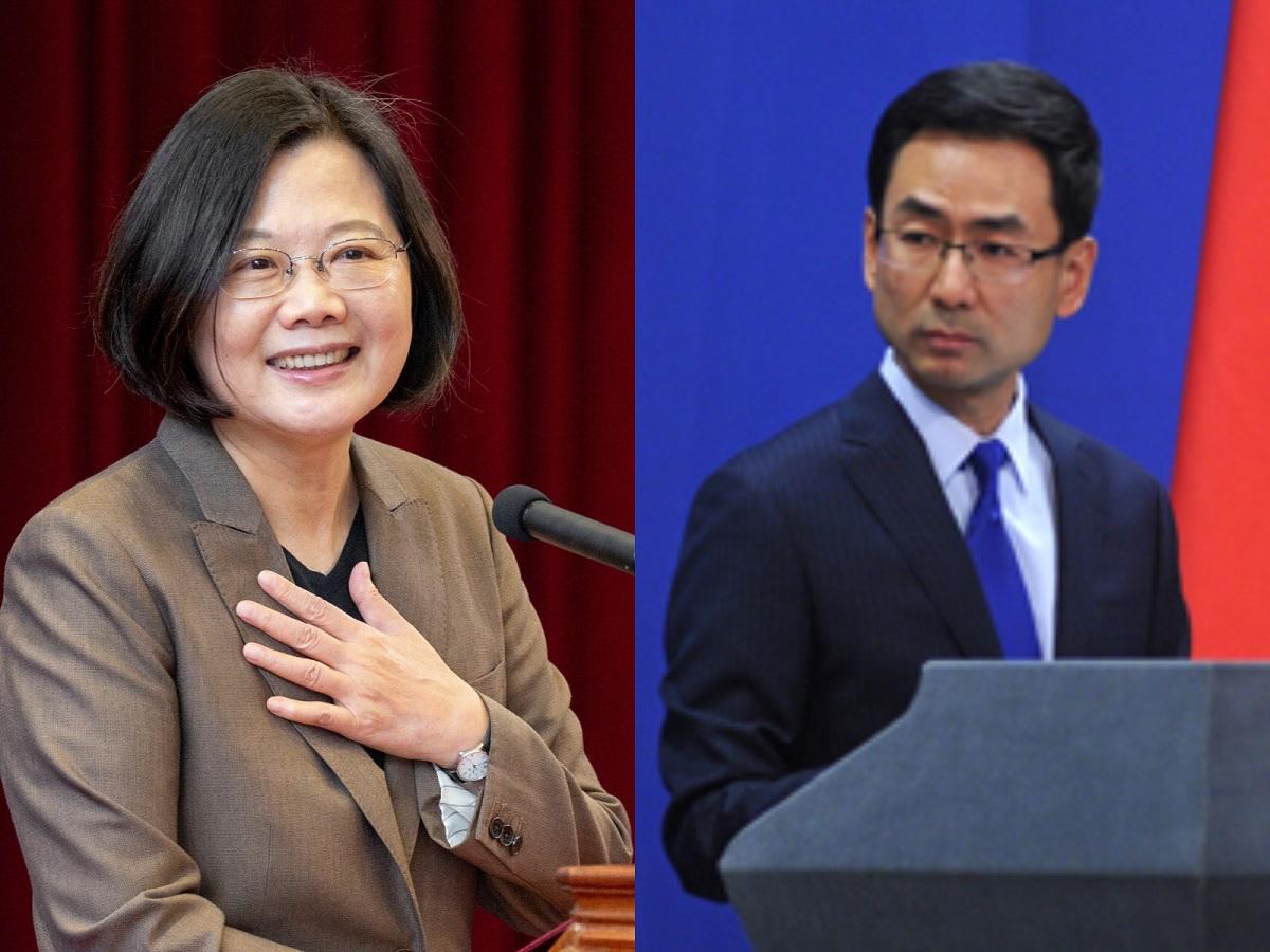 蔡英文稱台灣是獨立國家 中國外交部:「一中原則」為國際共識