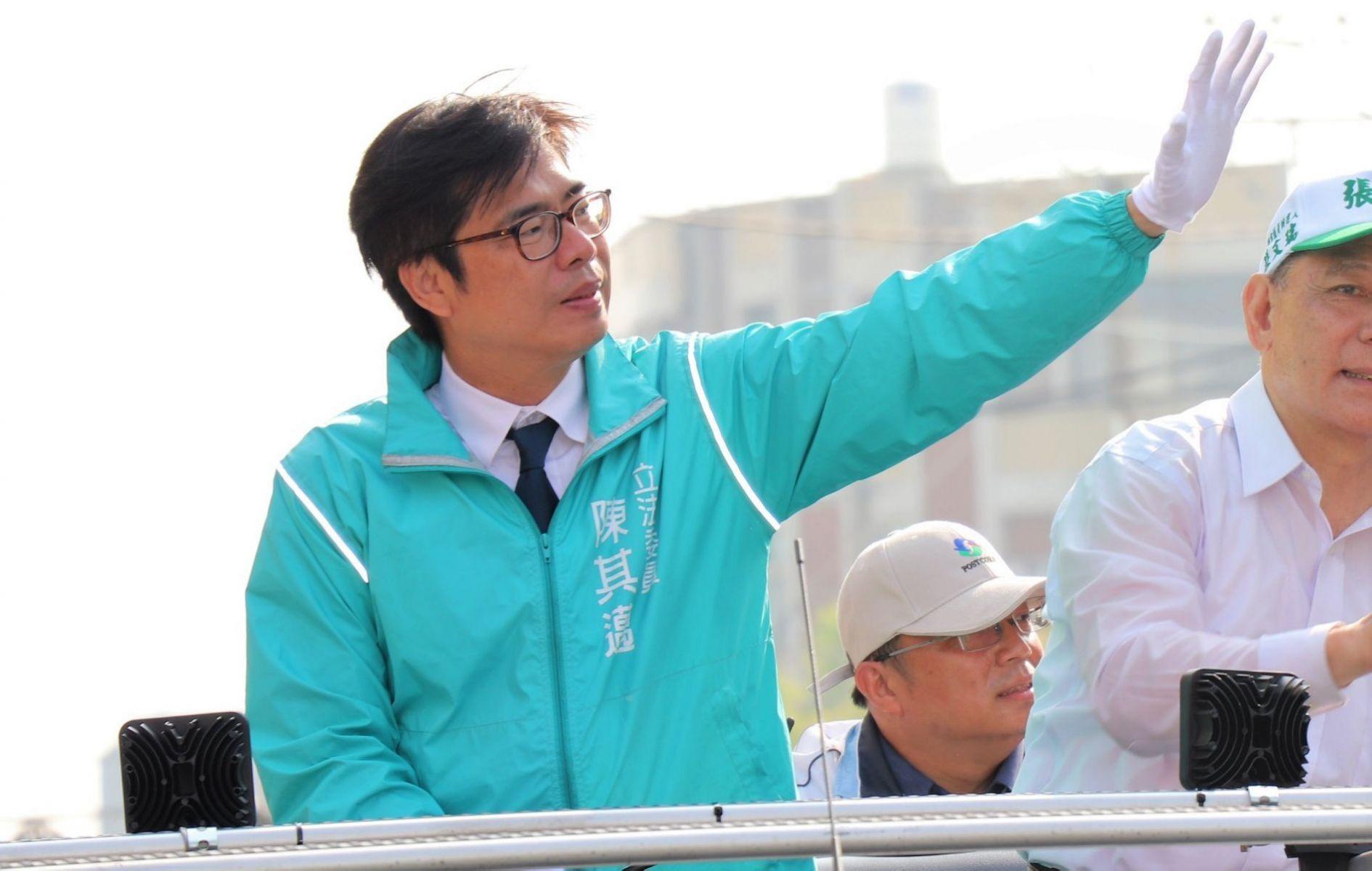 初選無懸念勝出 陳其邁:團結才能成就高雄