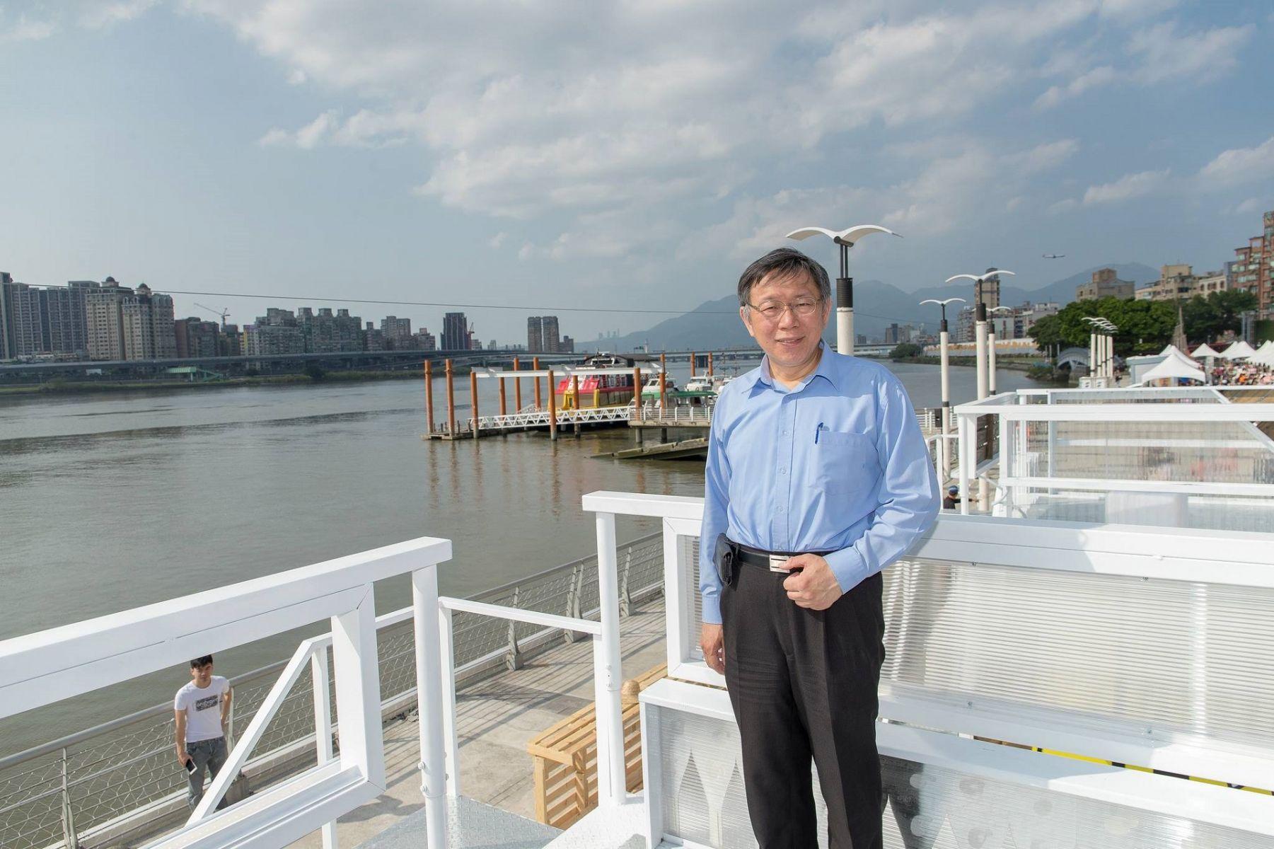 最新智庫民調 55.3%台北市民看好柯文哲連任