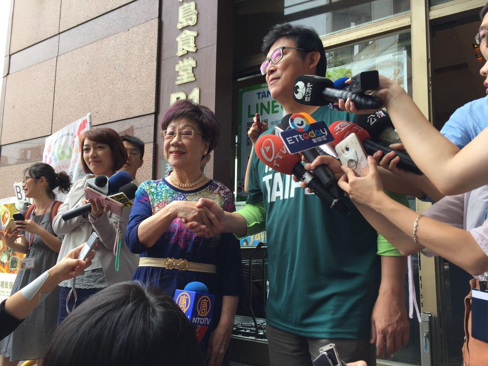 民進黨北市要提名誰?姚文智、呂秀蓮週六將辦電視政見會