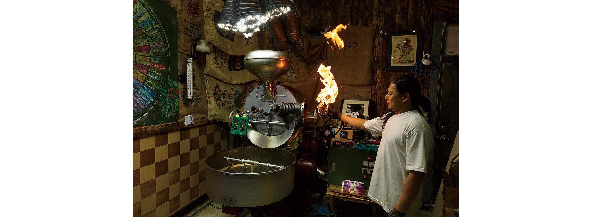 師古法打造咖啡時光隧道