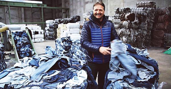 Mud Jeans創辦人Bert van Son。