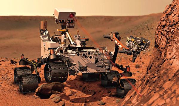 好奇號火星探測計畫