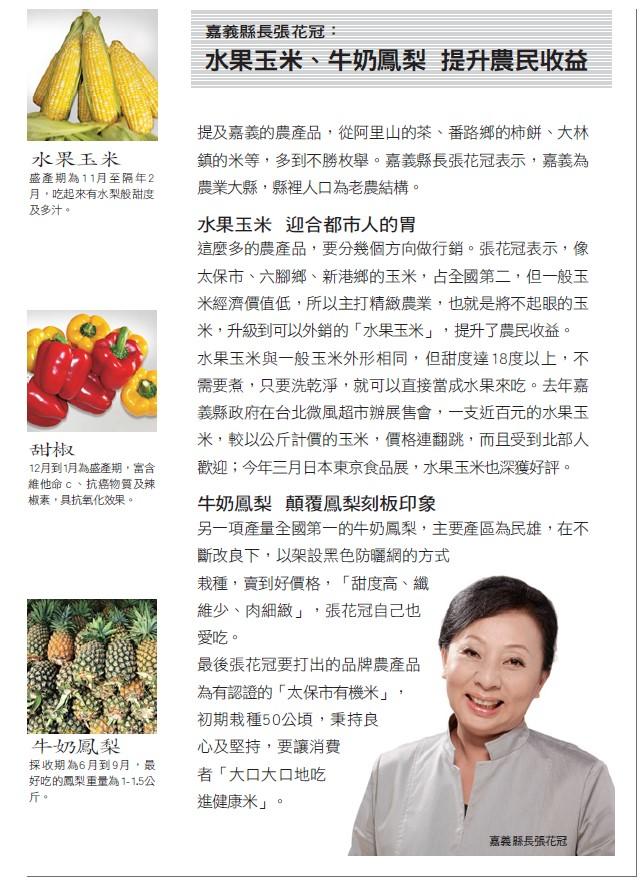 台灣嘉義農產品