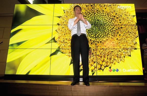鴻海大電視