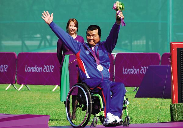 殘障奧運射箭選手