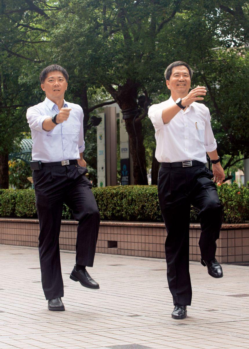 台灣愛普生行銷業務經理鍾惠光在半年內減重20公斤