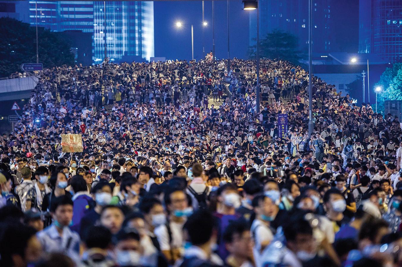 香港佔中運動