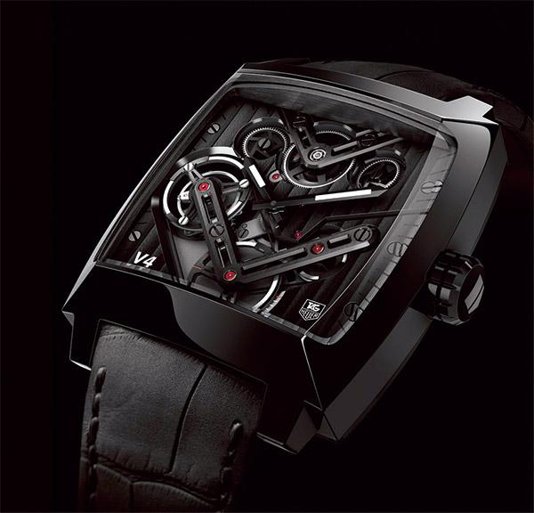 TAG Heuer,Monaco V4陀飛輪腕錶