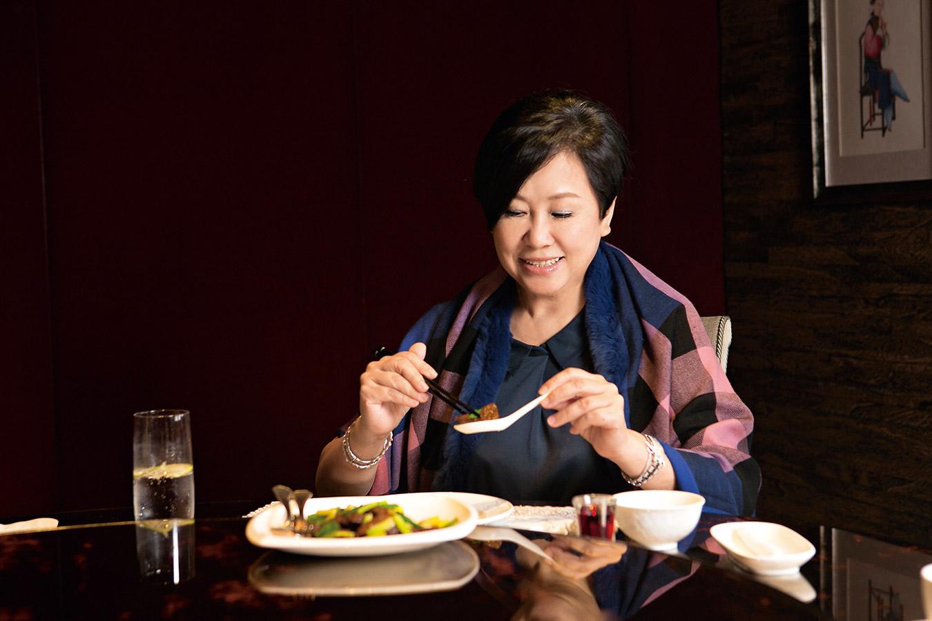 最重視口感的美食家 余湘