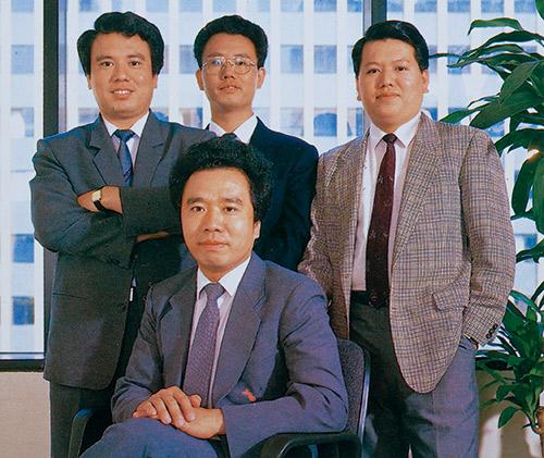 來自彰化的魏家四兄弟