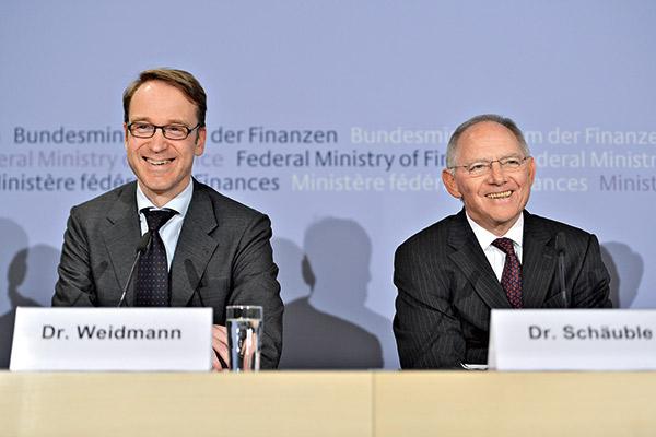 德國財政部長薛伯樂、央行總裁魏德曼參加IMF年會