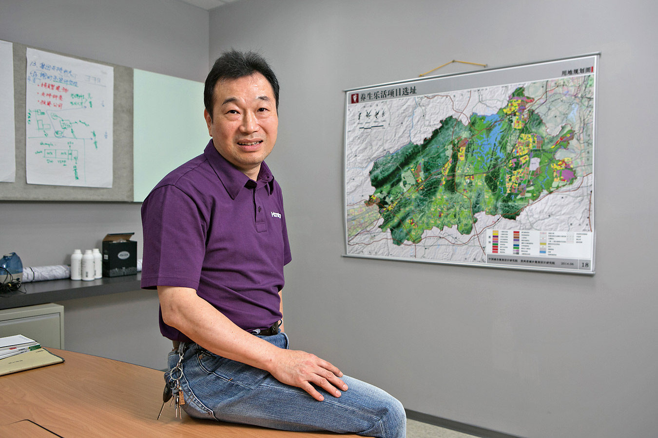 鴻海集團旗下樂活養生健康事業群董事長吳良襄