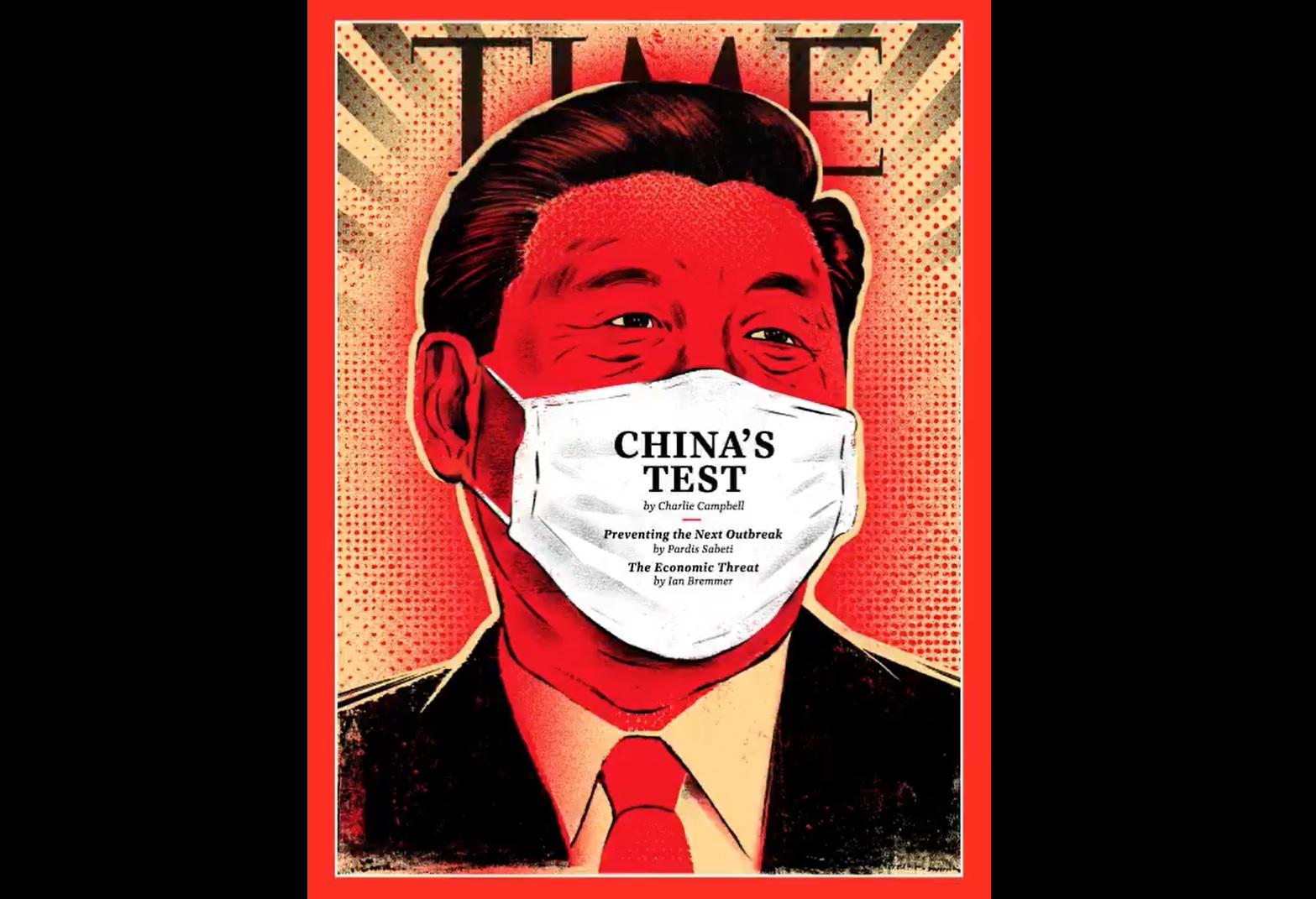 外媒諷武漢肺炎病毒「中國製造」、替習近平戴口罩 稱疫情肆虐恐阻礙中國夢