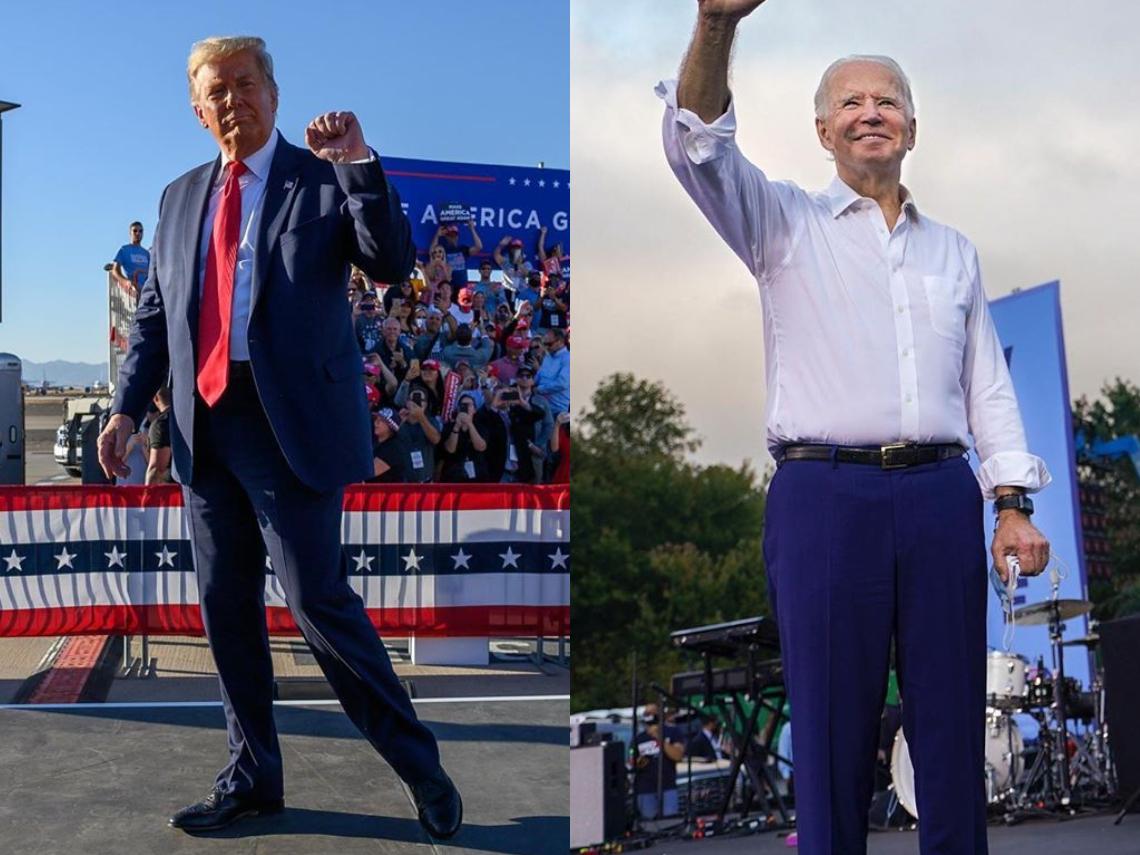 美國總統大選開票》關鍵搖擺州佛羅里達 川普暫時領先拜登