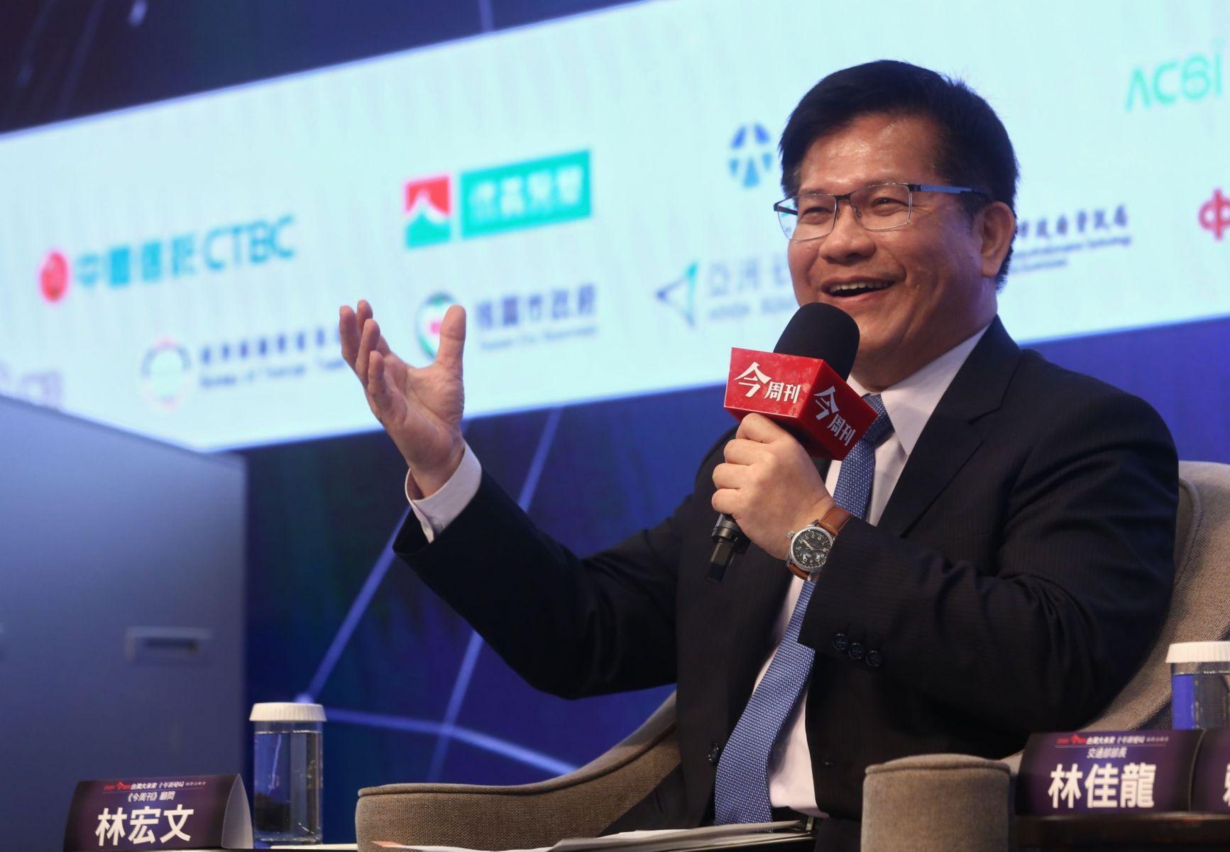 「智慧運輸計畫」將為台灣交通帶來新革命?林佳龍:已「超前部署」盼改變運輸生態