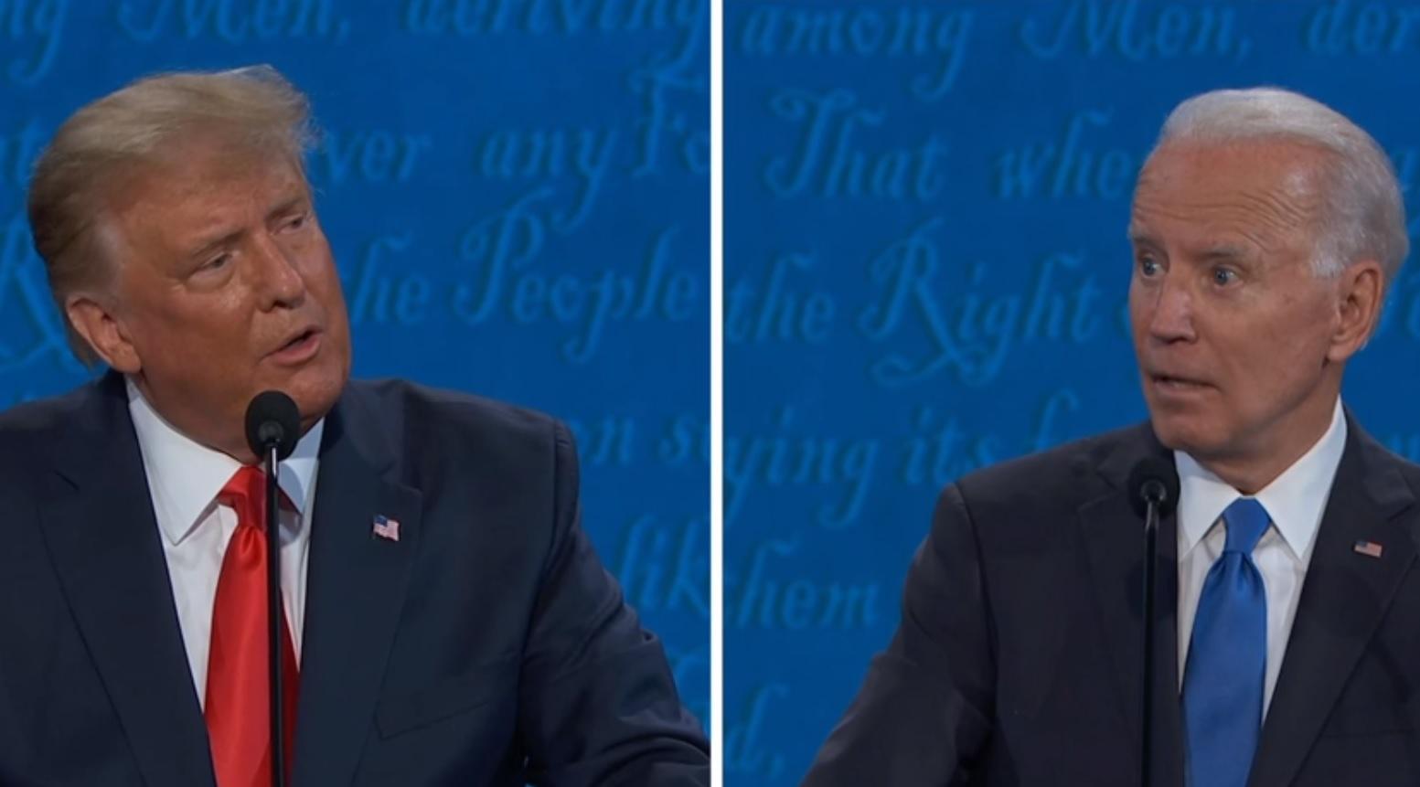 川普轟拜登向中國、烏克蘭拿錢!拜登譏川普和「惡棍」金正恩是麻吉 美總統大選辯論最終戰4大看點