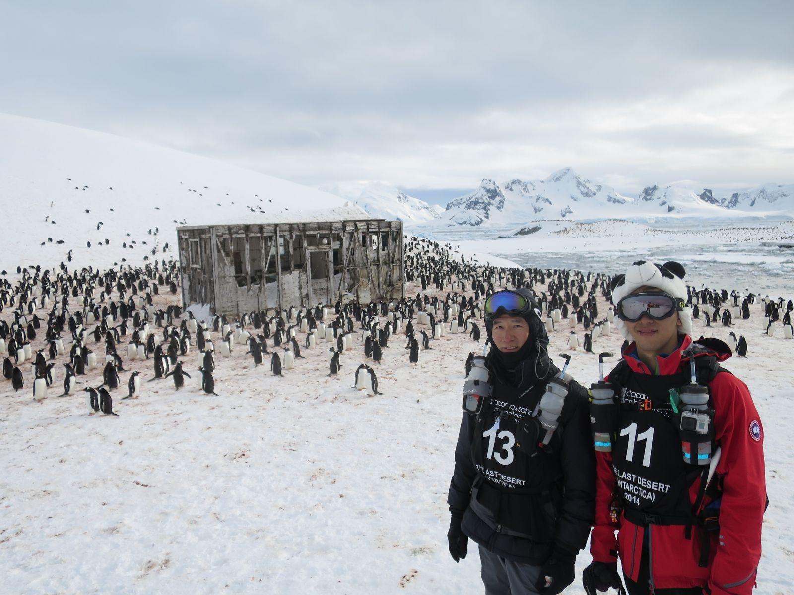 南極寒漠超馬