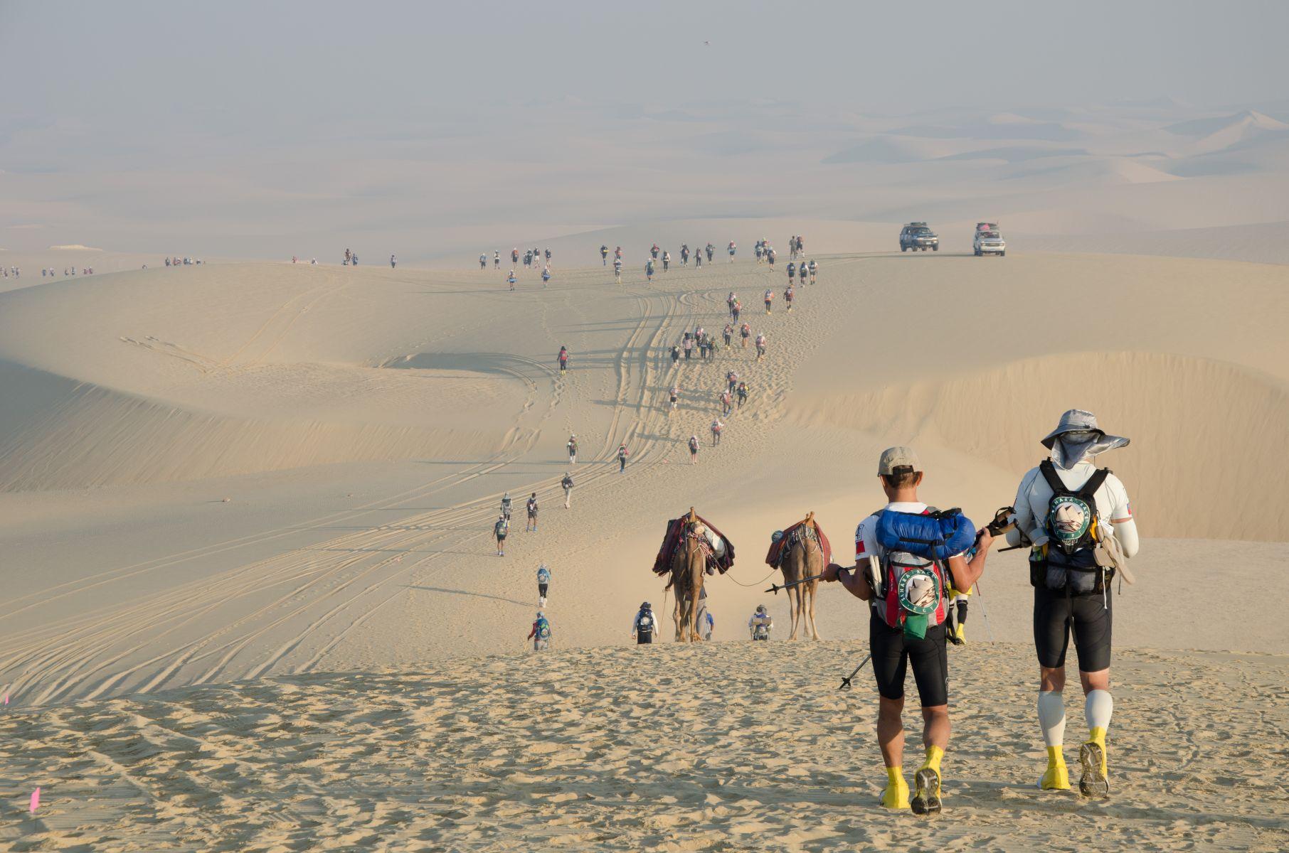 撒哈拉沙漠超馬