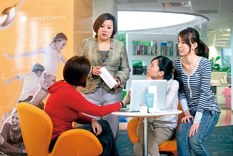 NU SKIN區副總裁姜惠琳,把主管當成支援角色,襯托員工重要性。