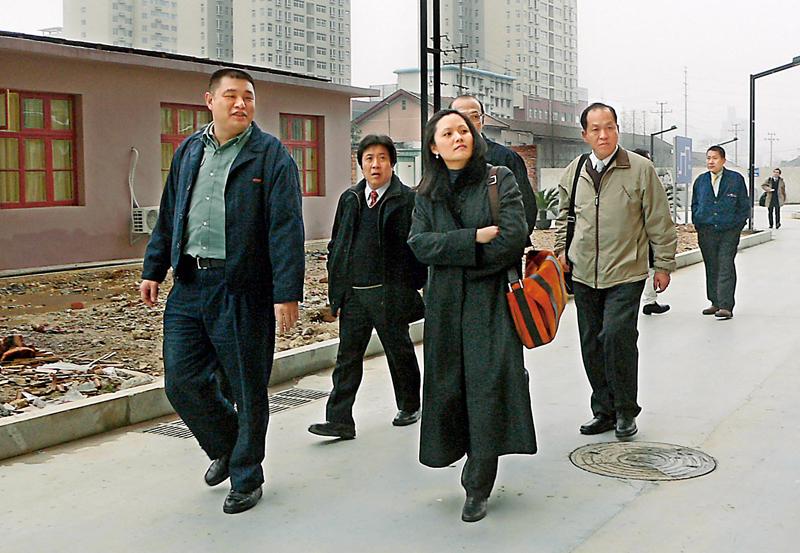 王瑞慧為了廈門長庚常跑中國,深耕長庚多年。