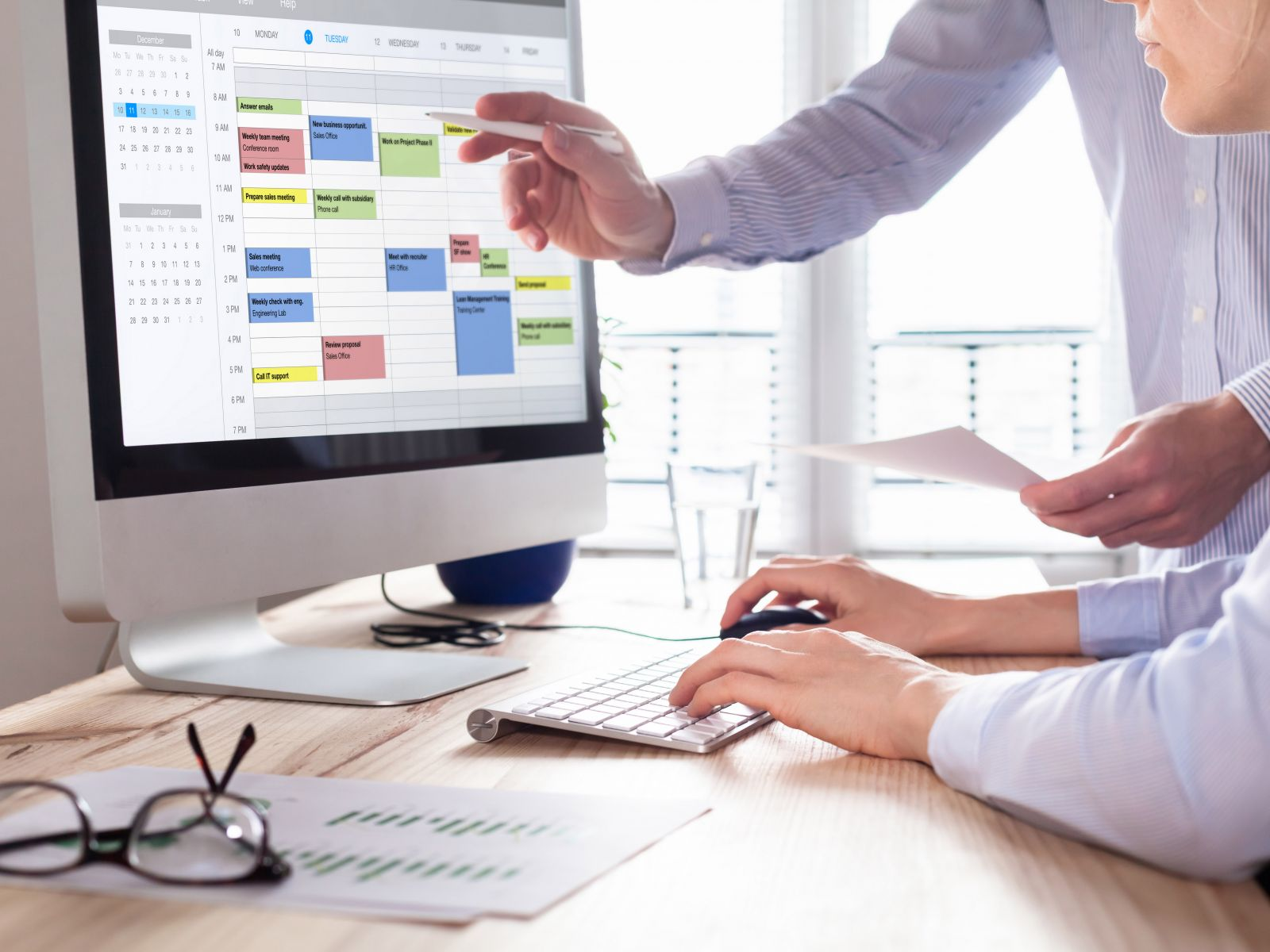 不要小看定期召開的會議、年終評估,這些事情很重要,提前做好準備可提升效率