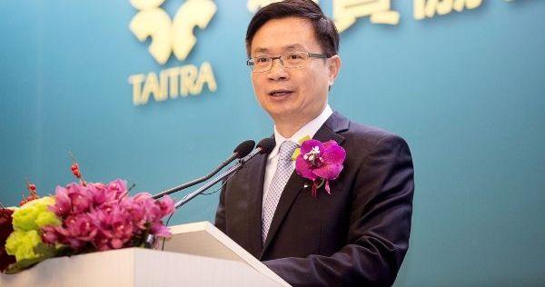貿協董事長黃志芳:拚南進要企圖心 英語也必須流利